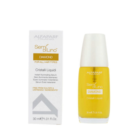 Alfaparf Semi di lino Diamond Cristalli liquidi Illuminating serum 30ml