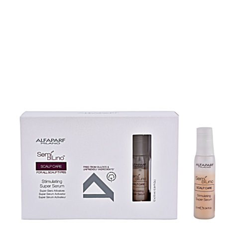 Alfaparf Semi di lino Scalp care Erneuerndes Haarserum 12x10ml