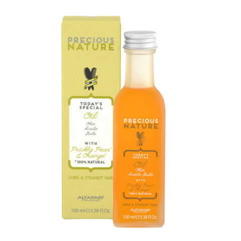 Alfaparf Precious nature Oil with Prickly pear & orange für langes/glattes Haar100ml