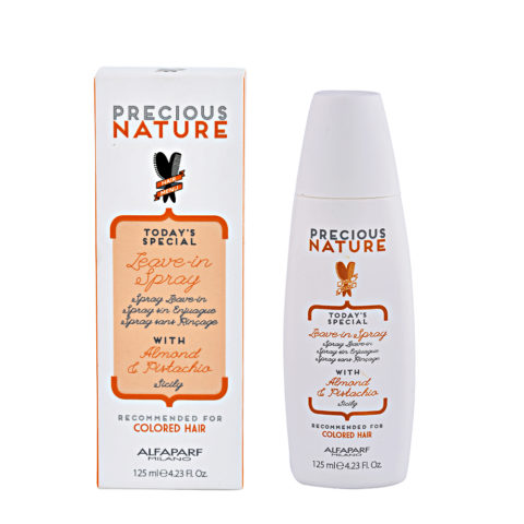 Alfaparf Precious nature Leave-in spray with Almond & pistachio for Colored hair 125ml