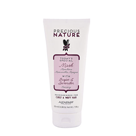Alfaparf Precious nature Mask with Grape & lavender for Curly & wavy hair 200ml
