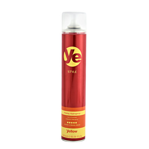 Alfaparf Ye Yellow Style Fixing Hairspray 500ml - Haarspray Starker Halt