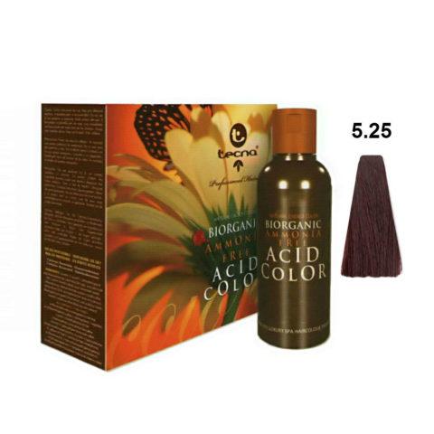 5.25 Violett mahogani Tecna NCC Biorganic acid color 3x130ml