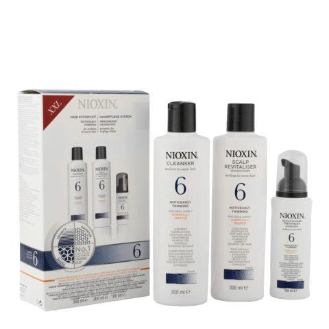 Nioxin Sistema6 Pacchetto completo XXL