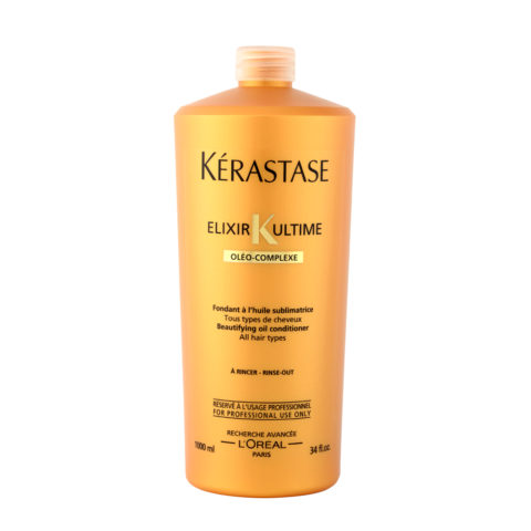 Kerastase Fondant Elixir ultime Beautifying oil Conditioner 1000ml Schönheits Ölconditioner