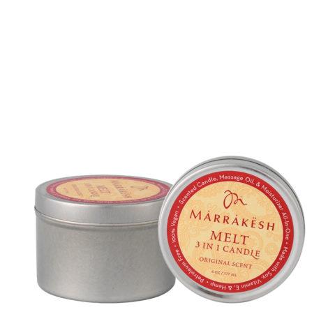 Marrakesh Melt 3 in 1 candle Original scent 177ml - Massagekerze