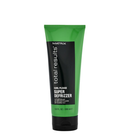Matrix NEW Total results Curl please Super defrizzer Curl definer gel 200ml