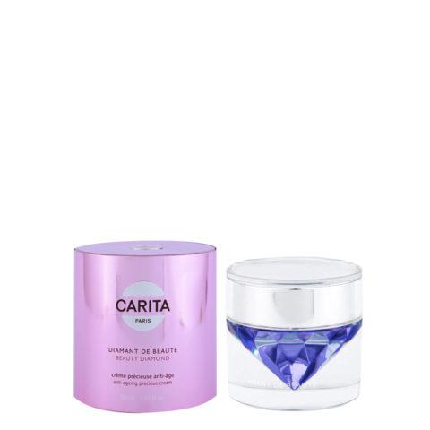 Carita Skincare Soin d'exception Diamant de beauté Creme Precieuse anti-age 50ml - Anti-Aging Creme mit Diamantenstaub