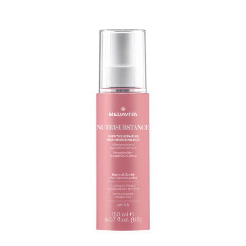 Medavita Lenghts Nutrisubstance Nutritive repairing hair microemulsion pH 3.5  150ml - reparierende Haar-Microemulsion