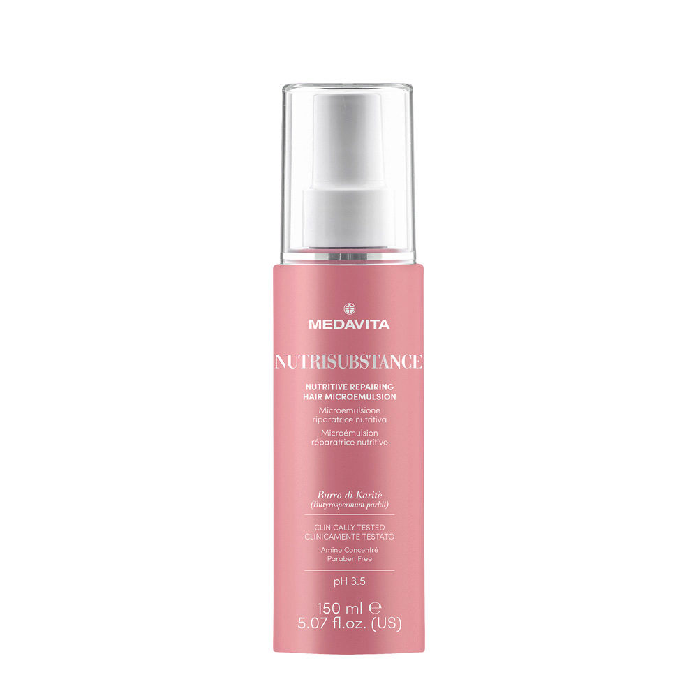 Medavita Lenghts Nutrisubstance Nutritive repairing hair microemulsion pH 3.5  150ml - reparierende Haar-Microemulsion