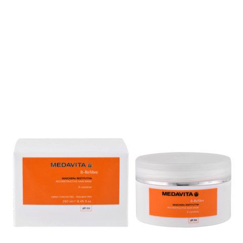 Medavita Lenghts ß-Refibre Reconstructive hair mask pH 2.6  250ml stärkende Maske