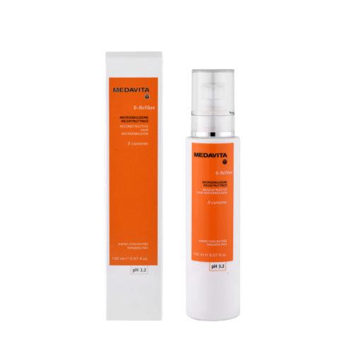Medavita Lenghts ß-Refibre Reconstructive hair microemulsion pH 3.2  150ml aufbauende Micro-Emulsion