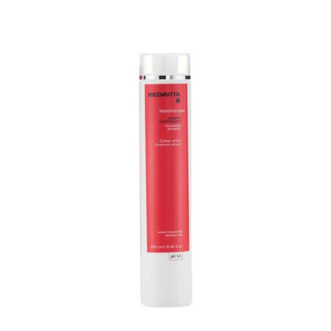 Medavita Lenghts Hairchitecture Volumizing shampoo pH 5.5  250ml für mehr Fülle