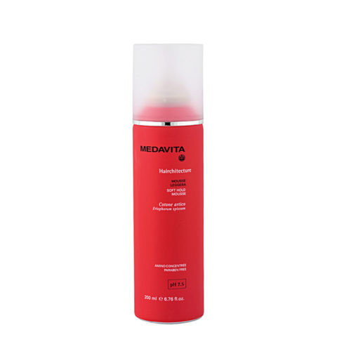 Medavita Lenghts Hairchitecture Soft hold mousse pH 7.5  200ml Leichtes Mousse