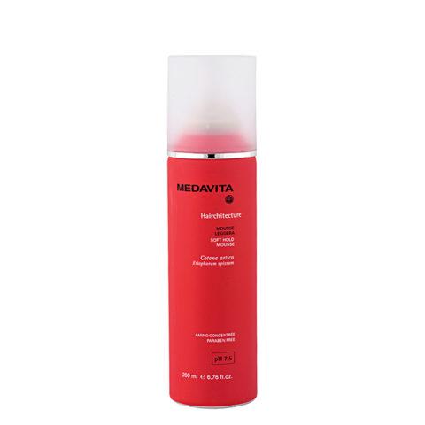 Medavita Lenghts Hairchitecture Soft hold mousse pH 7.5  200ml Mousse für leichten Halt