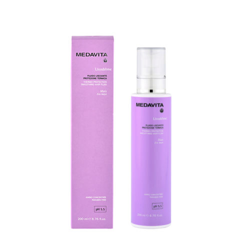 Medavita Haarlänge Lissublime Thermo glättender Fluid-Wärmeschutz  pH 5.5  200ml
