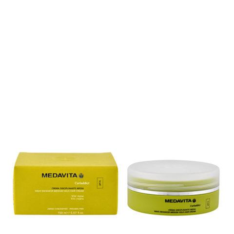 Medavita Lenghts Curladdict Wave enhancer Creme zu mittleren Haarbändigung pH 6  150ml