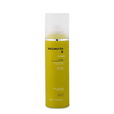 Medavita Lenghts Curladdict Shaping Mousse für starke Haarbändigung pH 5.9  200ml