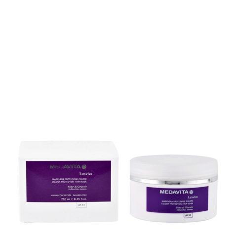 Medavita Lenghts Luxviva Colour Farbschutzmaske pH 3.5  250ml