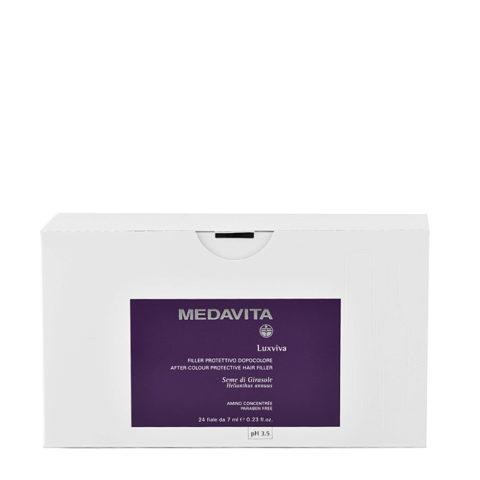 Medavita Lenghts Luxviva After-Füllschutz nach Farbbehandlung pH 3.5  24x7ml