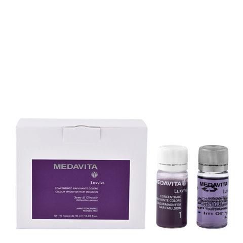 Medavita Lenghts Luxviva Konzentrat für belebende Farbe 2x10x10ml