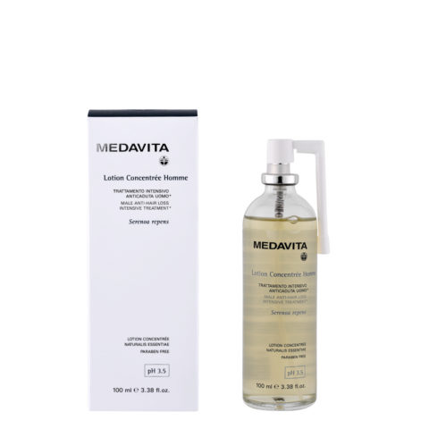 Medavita Scalp Lotion concentree homme Male anti-hair loss intensive treatment pH 3.5   100ml für Männer