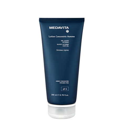 Medavita Cute Lotion concentree homme Glossy extreme hair gel  200ml
