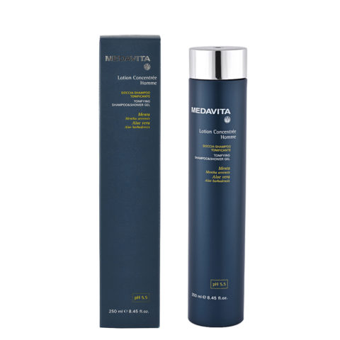 Medavita Scalp Lotion concentree homme shave Kräftigendes Dusch-Shampoo pH 5.5  250ml