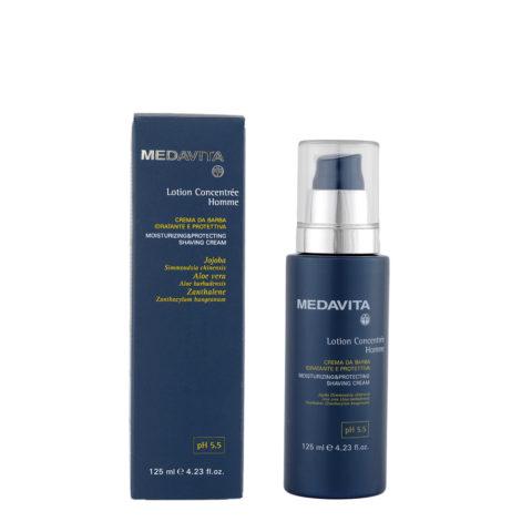 Medavita Scalp Lotion concentree homme shave feuchtigkeitsspendende und schützende Rasiercreme pH 5.5  125ml
