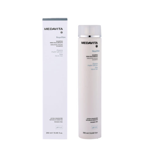 Medavita Cute Requilibre Sebum-balancing shampoo pH 5.5  250ml Talgnormalisierendes Shampoo