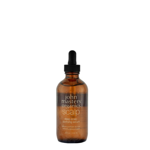 John Masters Organics Haircare Deep Scalp Purifying Serum 118ml - restrukturierend Serum