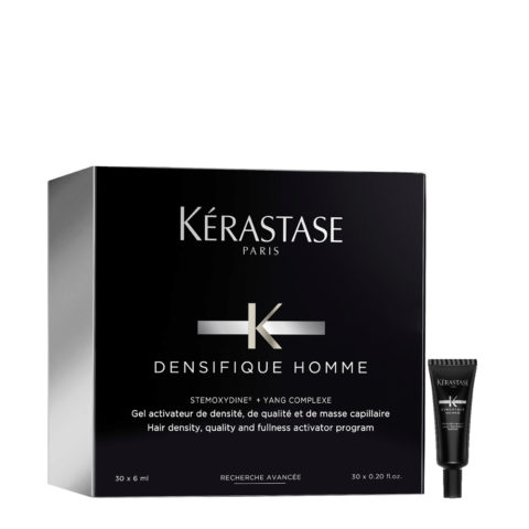 Kerastase Densifique homme Kopfhautbehandlung für Männerhaar ampullen 30x6ml - Für Feines Haar