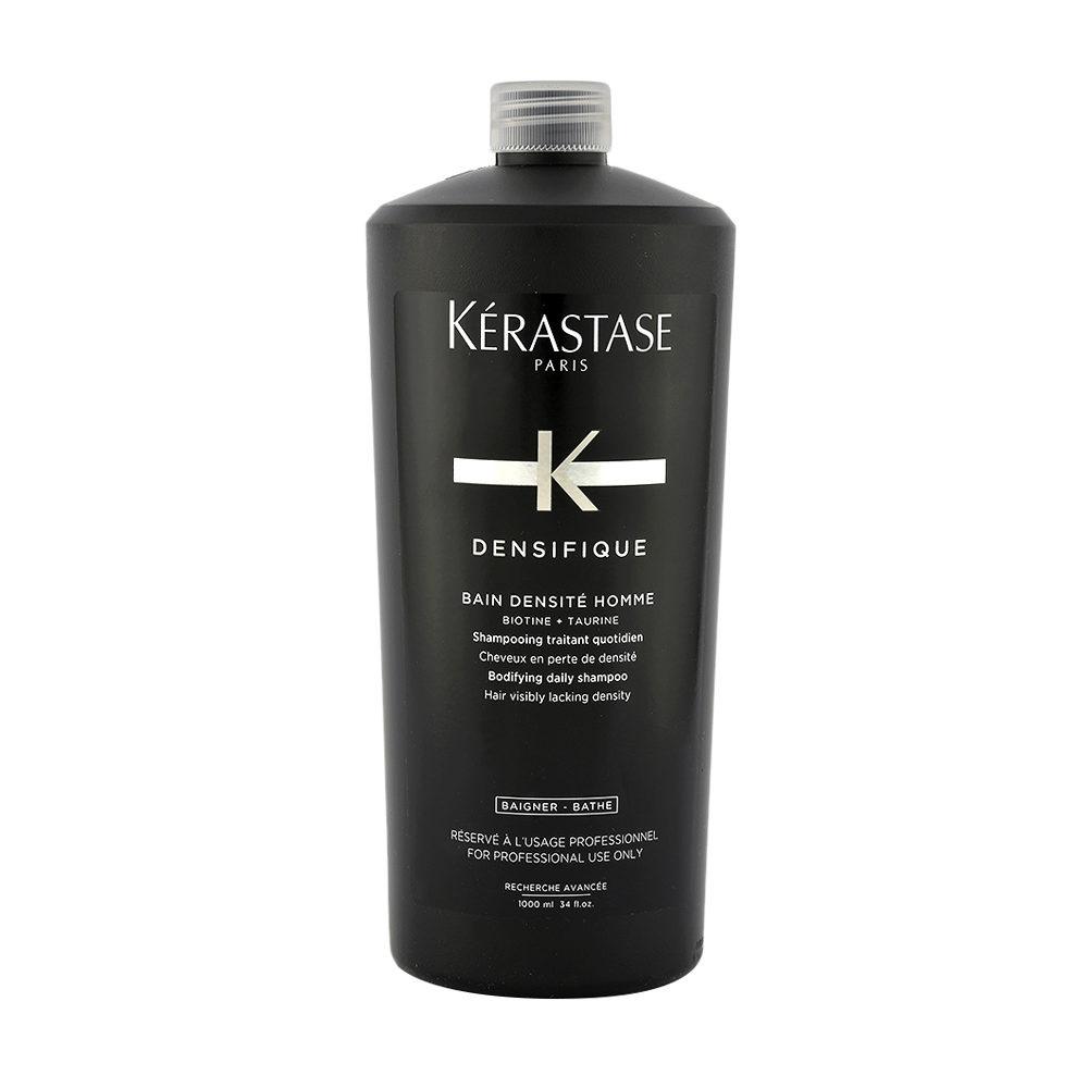Kerastase Densifique Bain densite homme 1000ml Shampoo für Männer, zur täglichen Anwendung, um dünner werdendes Haar