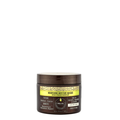 Macadamia Nourishing moisture Maske 60ml - Feuchtigkeits- und reichhaltige Maske für mittleres bis dickes Haar