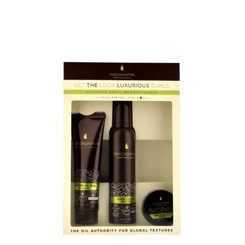 Macadamia Style kit Get the look Luxurious curls - 3 Stk