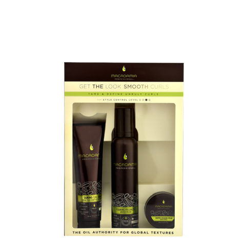 Macadamia Style kit Get the look Smooth curls - 3 Stk
