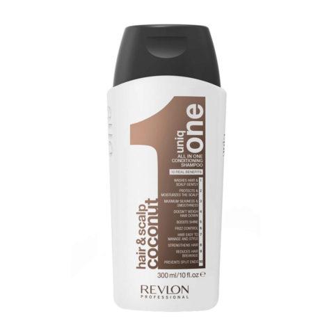 Uniq One Coconut Hair and scalp Conditioning shampoo 300ml