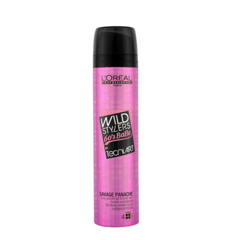 L'Oreal Tecni art Wild stylers 60's Babe Savage panache Dry touch powder spray 250ml