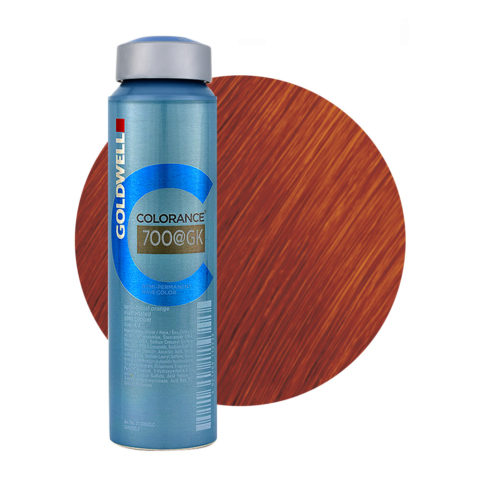 7OO@GK Sensational orange elumenated gold copper Goldwell Colorance Elumenated naturals can 120ml