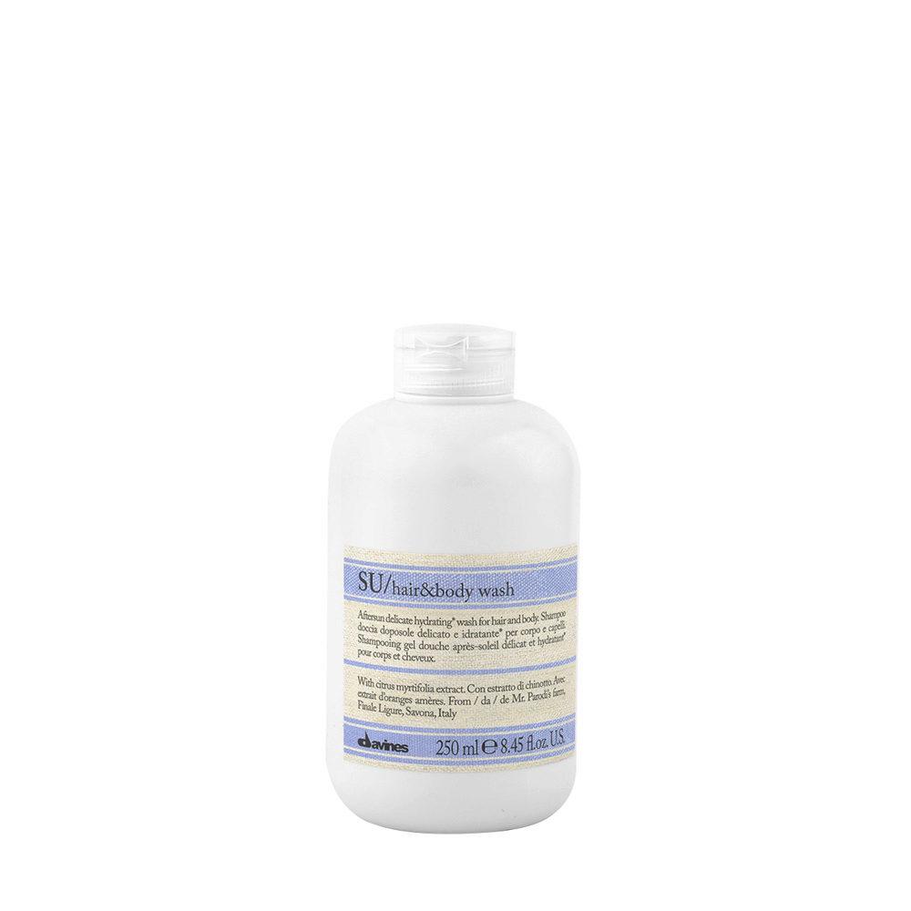 Davines SU Hair and Body Wash 250ml - Haar & Dusch-Shampoo