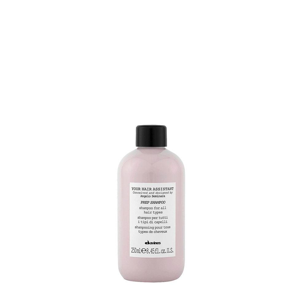 Davines YHA Prep shampoo 250ml - Feuchtigkeitsspendendes Shampoo