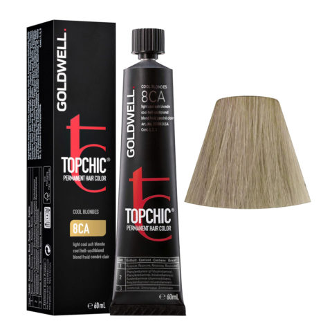 8CA Cool hell-aschblond Goldwell Topchic Cool blondes tb 60ml