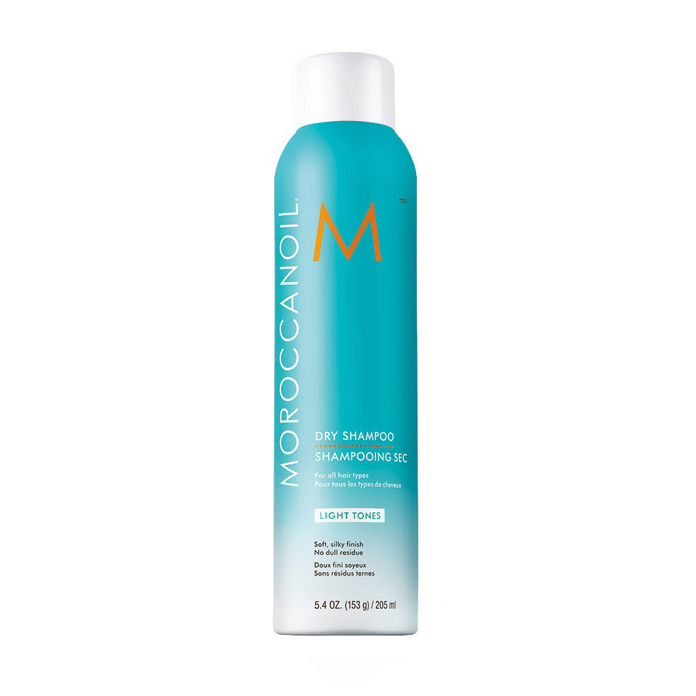 Moroccanoil Dry shampoo Light tones 205ml - Trockenshampoo