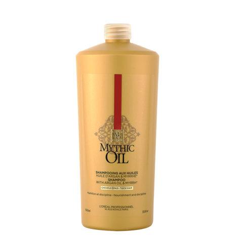 L'Oreal Mythic oil Shampoo Thick hair 1000ml - für kräftiges Haar