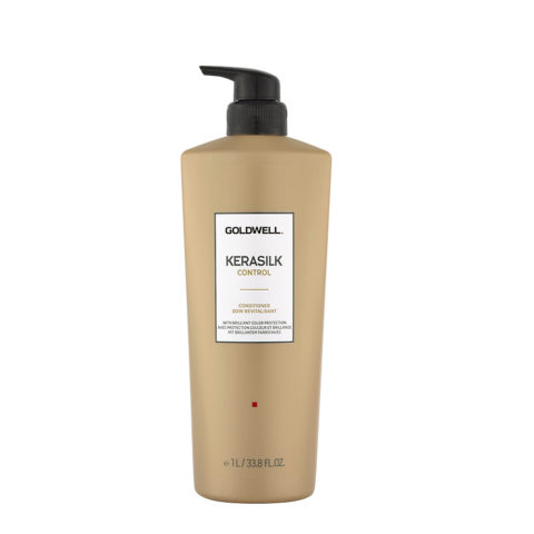 Goldwell Kerasilk Control Conditioner 1000ml - Anti Frizz Conditioner