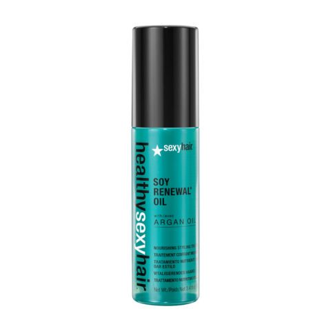 Healthy Sexy Hair Soy Renewal Oil Nourishing Styling Treatment 100ml