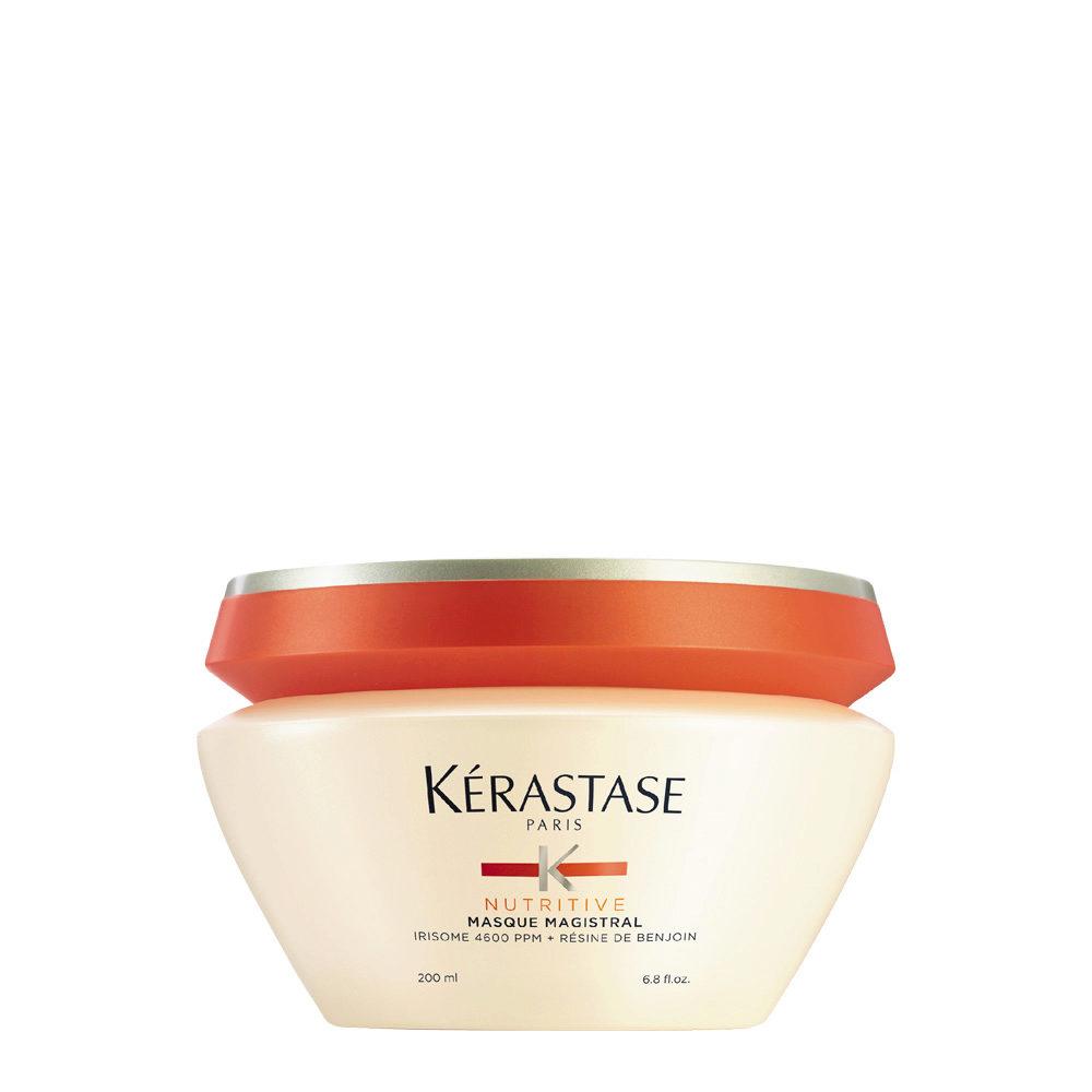 Kerastase Nutritive Masque Magistral 200ml - tiefenwirksame Pflegemaske für stark ausgetrocknetes kräftiges Haar