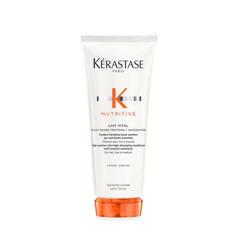 Kerastase Nutritive Lait Vital 200ml - pflegender Conditioner für normales bis leicht trockenes Haar