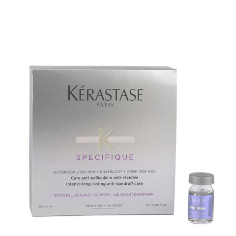 Kerastase Specifique Intense Long-lasting Anti-Dundruff care 12x6ml - Anti-Shuppen Ampullenkur