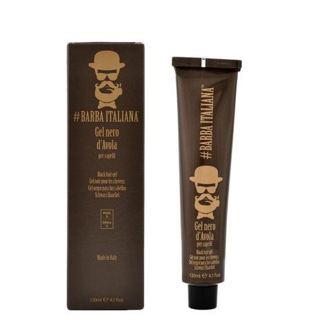 Barba Italiana Schwarzes Haargel d'Avola 120ml